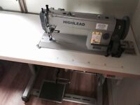 Brand New Industrial Sewing Machine - HIGHLEAD GC0318-1