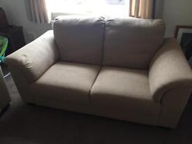 2 Beige Sofas