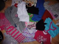 Girls 4-7 Years Mixed Clothes Bundle
