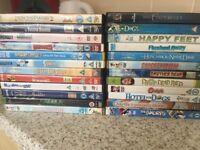 Children's DVD's bundle x 23