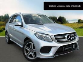 Mercedes-Benz GLE Class GLE 350 D 4MATIC AMG LINE (silver) 2017-04-27
