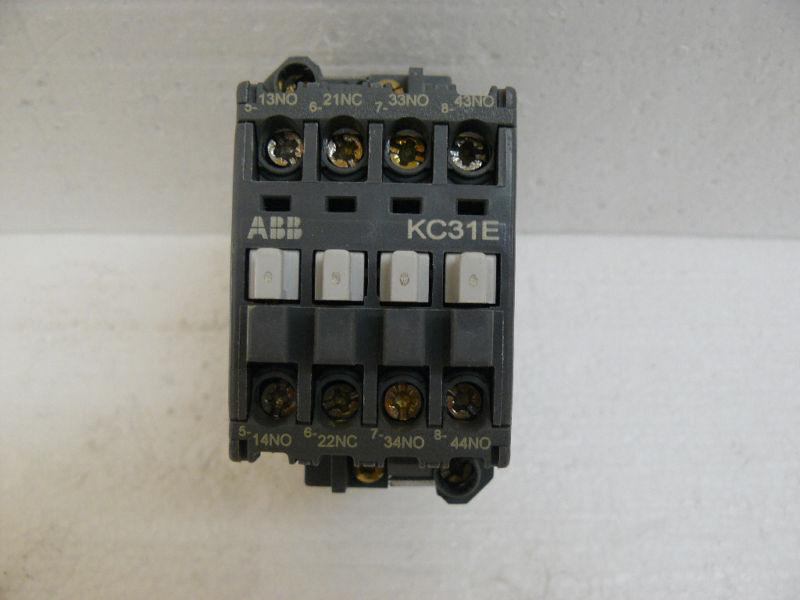 ABB KC31E RELAY CONTACTOR 24VDC 10 AMP
