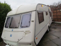 ABI 4 5 6 berth 2000 touring caravan + Full Awning + ready to go