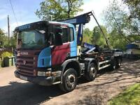 Scania 8x4 Hook loader 2008 No VAT