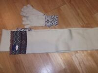 Kangol Scarf and gloves