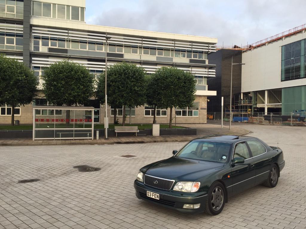 Lexus LS400, LS 400, 4 Door Saloon, v8