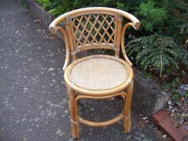 Wicker Chair.
