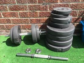 Bundle of weights & bars