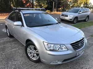 TURBO DIESEL MY10 2009 Hyundai Sonata CRDI D4D ONLY 90k LOGBOOKS Sutherland Sutherland Area Preview