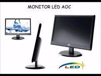 AOC E950swdak 18.5 inch LED Monitor - 1366 x 768
