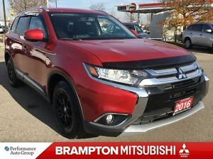 2016 Mitsubishi Outlander ES PREMIUM (LEATHER INTERIOR! SUNROOF!