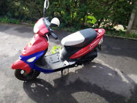 Pulse Scout Moped Spares or repair MOT until 08/04/2019