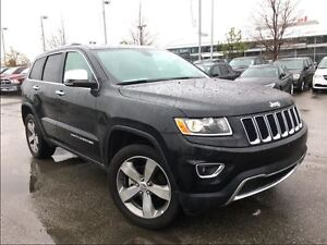 2016 Jeep Grand Cherokee LIMITED**POWER SUNROOF**BLUETOOTH**