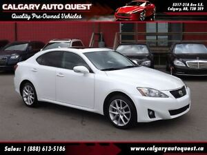 2013 Lexus IS 250 ALL WHEEL DRIVE/LEATHER/SUNROOF