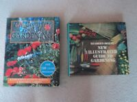 SET OF TWO COMPREHENSIVE GARDENING BOOKS.