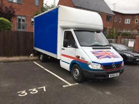 Mercedes Box Van
