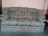 3 SEATER SOFA AND 2 ARMCHAIRS FOR SALE