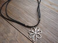 Silver Rope Chain Pendant