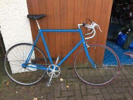 retro fixie bike