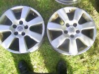 Vauxhall 16in Alloys