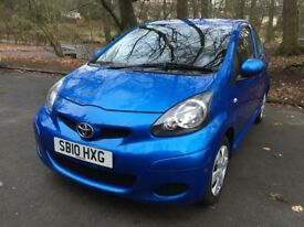 Toyota Aygo 1.0 VVT Blue Edition **Full Service History, New MOT**