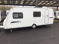 Lunar Zenith 6 Berth Caravan in excellent condition with Awnimg