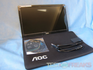 "AOC 16"" E1659F Portable monitor"