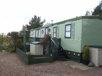 2003 Atlas Status Super static caravan – 37 ft x 12 ft in excellent condition.