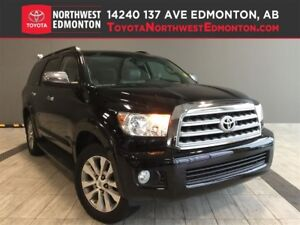 2013 Toyota Sequoia Limited | DVD| NAV | Leather Heat Seat | Pwr
