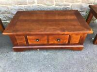 Mahogany coffee table * free furniture delivery *