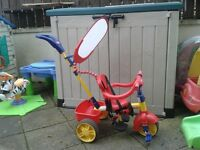 Little tikes tricycle excellent condition. .perfect for taking children walks
