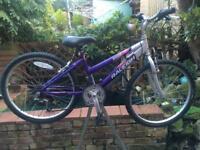 "Raleigh Krush girls bike 24"" wheels"