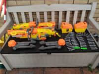 Nerf guns, large Nerf, Nerf havok fire.