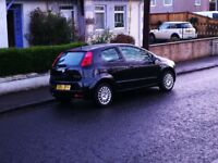 2008 Fiat Grande Punto. Full years MOT and just serviced. Low mileage