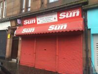 Property Available for rent only, ideal for office, newsagent, hairdressers or desserts parlour