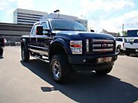 2008 Ford F-350 XLT SPORT, NICE LIFT, 35 BFG'S, LEATHER AND LOAD