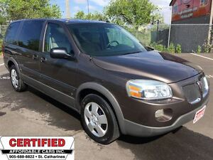 2008 Pontiac Montana SV6 EXT. 1SA ** CRUISE, AUX. IN **