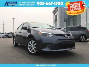 2016 Toyota Corolla LE - HEATED SEATS, BACKUP CAM