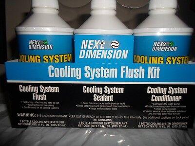 AMREP Auto Car Air Conditoner A/C Cooling System Flush Kit Radiator Sealant