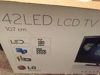 LG 42 inch LED LCD TV in perfect condition