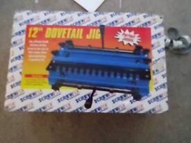 "brand new screwfix 12"" dovetail jig kit unit"