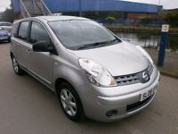 2008 NISSAN NOTE 1.4 ACENTA, 5DOOR, VERY CLEAN CAR, DRIVES LIKE NEW, FULL SERVICE HISTORY, HPI CLEAR