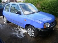 NISSAN MICRA 900cc, 2001 REG WITH A LONG MOT, LOW MILEAGE, TIDY INSIDE & OUT & HPi CLEAR