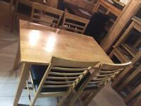 New dining table and chairs all sets reduced