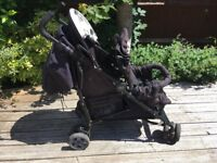 Great compact double pushchair
