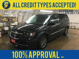 2015 Chrysler Town and Country S*NAVIGATION*DUAL ROW DVD*LEATHER