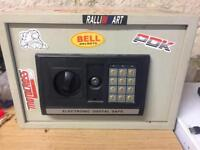 Electronic Digital Safe with Code & Key Rare £100