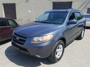 2009 Hyundai Santa Fe GLS, Leather and Sunroof,One Owner