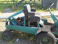 Ransome T24 Ride on Mower for Spares or Repair