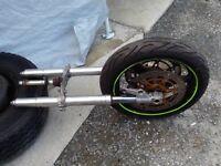 Suzuki GSXR 750 SRAD full front end Forks Wheel etc £400. 07870516938
